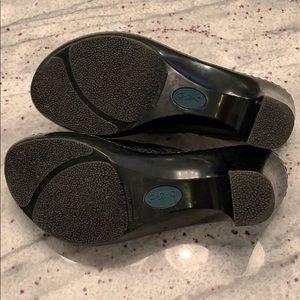boc Shoes - b.o.c sandals/wedge size 8 black